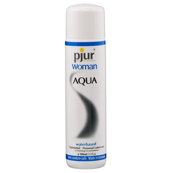 PJUR WOMAN LUBRICANT WATERBASED 100 ML
