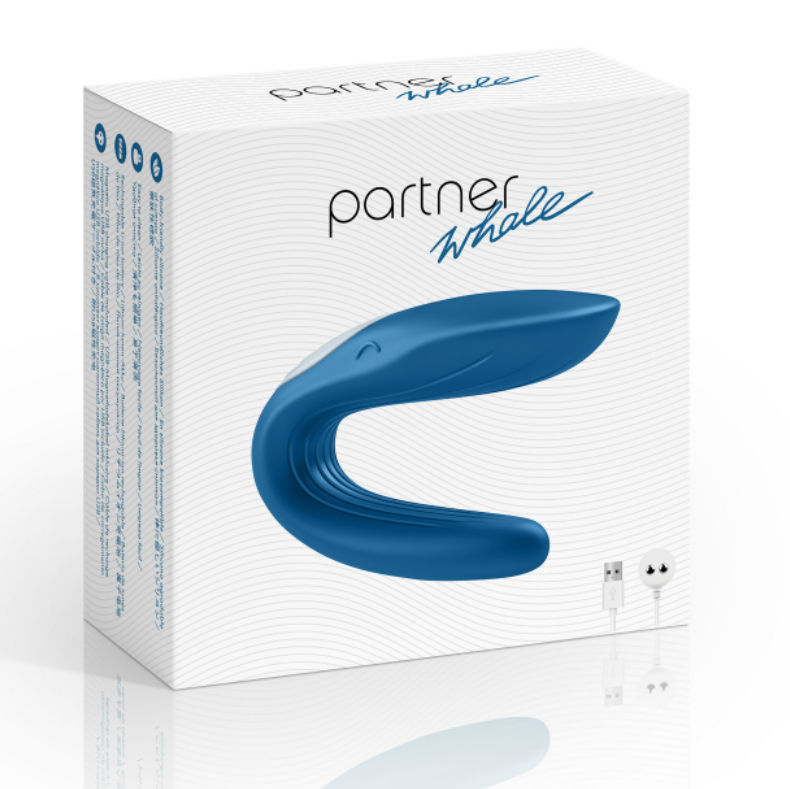 PARTNER TOY WHALE VIBRATOR STIMULATING BOTH PARTNERS
