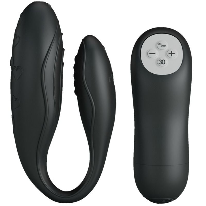 PRETTY LOVE INDULGENCE PLUS STIMULATOR REMOTE CONTROL