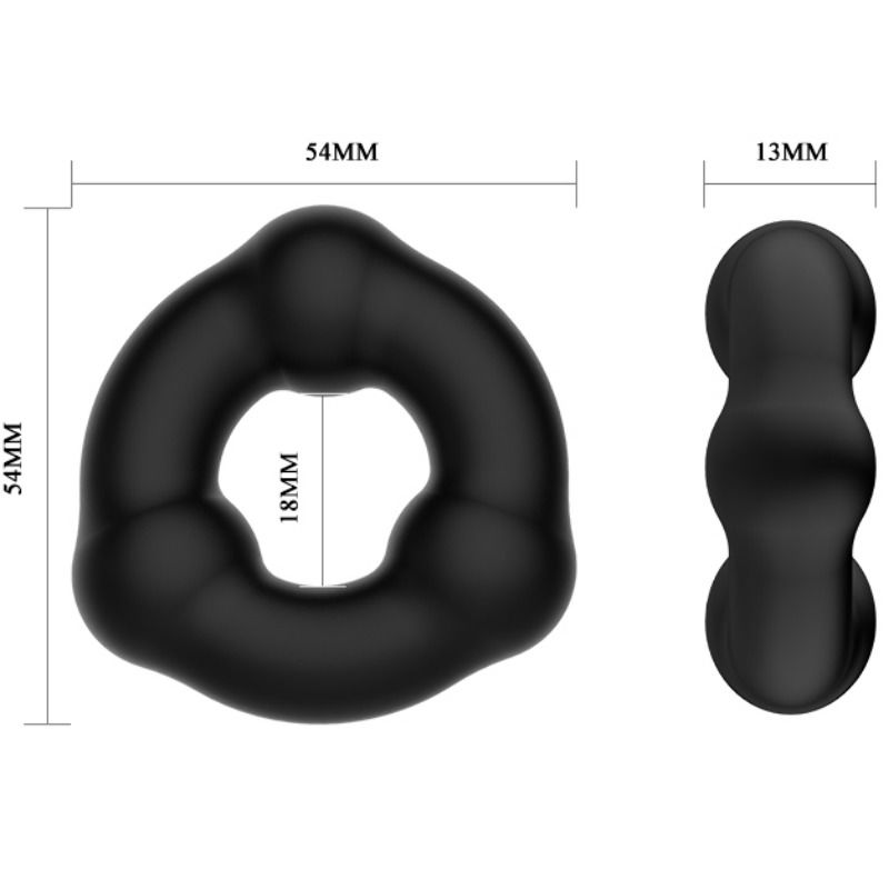 CRAZY BULL – SUPER SOFT NODULATED SILICONE RING