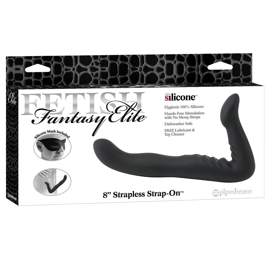 FETISH FANTASY ELITE 22 CM STRAPLESS STRAP-ON BLACK