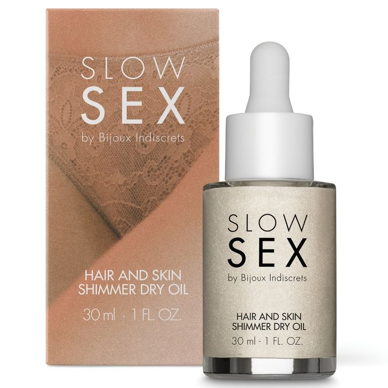 SLOW SEX HAIR AND SKIN SHIMMER DRY OIL 30 ML