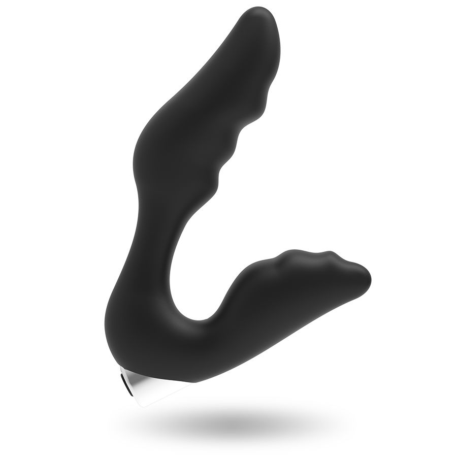 ADDICTED TOYS PROSTATIC VIBRATOR BLACK RECHARGEABLE